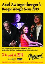 Axel Zwingenberger´s Boogie Woogie News 2019
