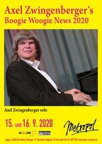 Axel Zwingenberger´s Boogie Woogie News 2020