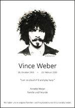 R.I.P. Vince Weber
