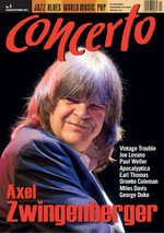 Cover story for Concerto Music Magazine